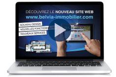 Événement : Lancement du nouveau site de Belvia Immobilier  Rdv sur www.belvia-immobilier.com  Visionnez la vidéo de présentation sur Youtube : http://youtu.be/dMASEGk2jhE