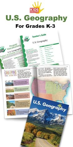 Learn about the regions and landforms of the United States in U.S. Geography for early elementary readers, through maps, charts, and breathtaking photographs. It also includes a free Power Vocabulary Packet and Teacher Guide! | Kids Discover