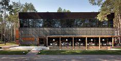 Food & Forest park restaurant on Interior Design Served