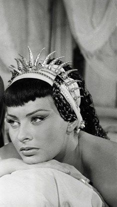 Sophia Loren in Due notti con Cleopatra (Two Nights With Cleopatra) in 1953.