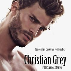 Fifty shades of grey... Ok this looks similar to how I mentally pictured him...Jamie Dornan he's beautiful!