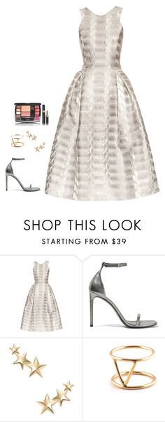 """Untitled #1035"" by h1234l on Polyvore featuring Mary Katrantzou, Yves Saint Laurent, Kenneth Jay Lane and SOKO"