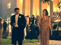 Awesome dress....but a more awesome Colin Firth  Magic in the Moonlight. Costumes by Sonia Grande.