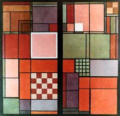 Joseph Albers, Red and White 1923.
