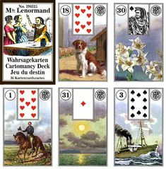 Not tarot, but learning lenormand and picked up a couple of decks - Lenormand Piatnik