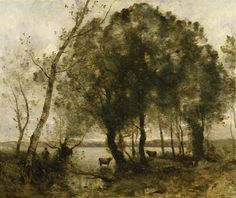 Corot, The Lake, 1861