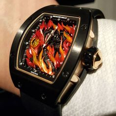 """We are on Fire Evil Eye that protect Evil away from us. One word """"Amazing """" #richardmillewatch #richardmille #limitededition #unique #art #tourbillon #singapore #indonesia #vietnam #china #macau #taiwan #thailand #australia #japan #philippines by s1m9n68"""