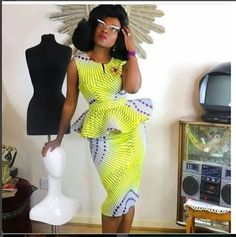 is an African fashion and lifestyle website that showcase trendy styles and designs, beauty, health, hairstyles, asoebi and latest ankara styles. Latest Ankara Dresses, Ankara Dress Styles, Ankara Gowns, Latest African Fashion Dresses, African Print Dresses, African Print Fashion, Africa Fashion, African Prints, Ankara Fashion