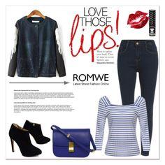 """""""ROMWE IV/3"""" by amra-mak ❤ liked on Polyvore featuring мода, Giuseppe Zanotti, Manic Panic и romwe"""