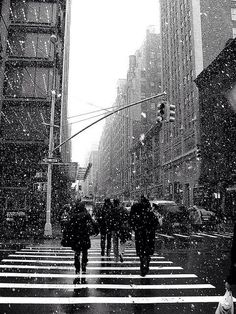 New York in the Snow // Tea, Toast, Theatre and...
