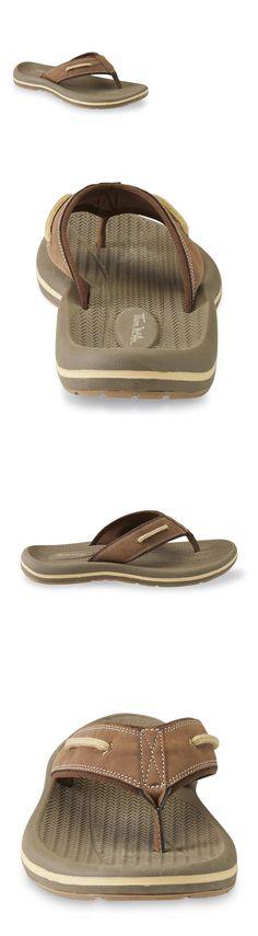 27f8e82775c0 Sandals 11504  Thom Mcan Men S Nautilus 2 Brown Flip-Flop Sandal Sizes 8