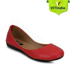 We are giving kielz ladies footwear flats bellies for women- buy now red colour kielz bellies online at vales in mahasagar. Watch now www.vitindia.com