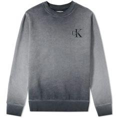 037b496e CALVIN KLEIN Logo Crew Sweat Cute Tops, Mens Fashion, Logos, Sweatshirts,  Sweaters
