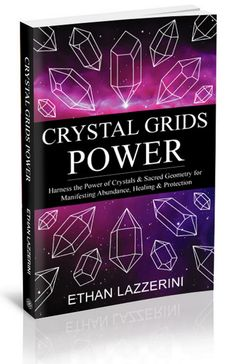 Crystal Grids Power: Harness the power of Crystals and Sacred Geometry for manifesting abundance, healing and protection. #crystalgrid #crystalhealing #lawofattraction