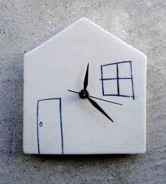 Reneé Boyd Ceramic Wall Clocks - Home