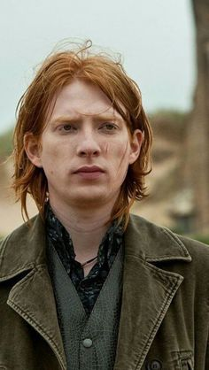 """Domhnall Gleeson as Bill Weasley in """"Harry Potter and the Deathly Hallows"""" Domhnall Gleeson Harry Potter, Familia Weasley, Domhall Gleeson, Goodbye Christopher Robin, Brendan Gleeson, Harry Potter Actors, Ex Machina, Most Beautiful Man, Pretty Boys"""