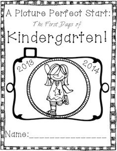 Picture Perfect Start: Kindergarten {Back to School Book
