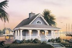 tinyromantic cottages with porches   If small cottage house plans are on your list of 'homes I would love ...