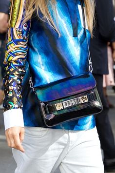 Street Style: The Best Bags at New York Fashion Week | StyleCaster