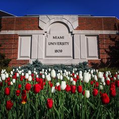 Stop and smell the flowers! #MiamiOH