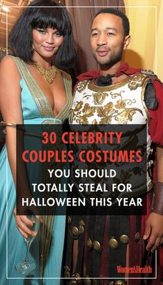 30 Celebrity Couples Costumes You Should Totally Steal For Halloween This Year is part of Celebrity couple costumes - 30 Celebrity Couples Costumes You Should Totally Steal For Halloween This Year NurseryRhymes Costumes