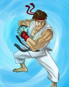 Hadouuuuuken!!!...#streetfighter #ryu #hadouken #fanart #illustration #digitalart #digitalillustration #digitalcolor #draw #drawing #dayliart #daylidrawing #ilustración #dibujo #karate Karate, Ryu Hadouken, Fanart, Street Fighter, Digital Illustration, Digital Art, My Arts, Comics, Drawings