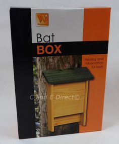 Bat boxes should be sited in a sheltered position as high as is practical. They are ideally sited in trees although attaching them to the side of buildings or high wall is also desirable. Bats and bat roosts are protected by the wildlife and countryside act 1961 which makes it an offence to disturb, handle or kill a bat. | eBay!