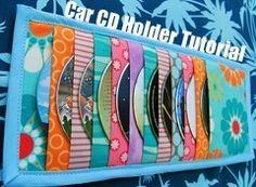 Car CD organizer