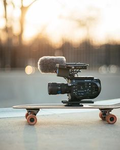 They see me rolling...  Sony FS7 | Photo by @julienajarry