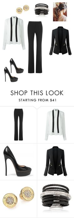 """""""Untitled #200"""" by bashaier-ali ❤ liked on Polyvore featuring Alexander McQueen, Plein Sud, Casadei, WithChic, Michael Kors and Alor"""