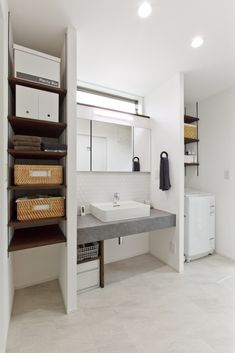 Home Room Design, Interior Design Living Room, House Design, Washroom, House Rooms, Bathroom Inspiration, New Homes, Yahoo, Laundry Room