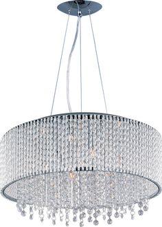 ET2 Spiral 10 Light Drum Pendant | AllModern 22.5 diam $580