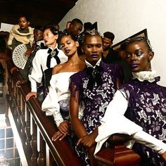 Models waiting for the countdown at @davidtlale #mbfwct17 #capetownclub  via MARIE CLAIRE SOUTH AFRICA MAGAZINE OFFICIAL INSTAGRAM - Celebrity  Fashion  Haute Couture  Advertising  Culture  Beauty  Editorial Photography  Magazine Covers  Supermodels  Runway Models