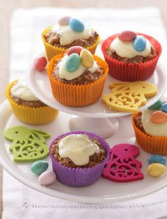 Caroline Velik's itty-bitty carrot cakes are perfect for hungry little bunnies.