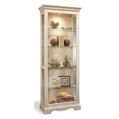 Color Time Ambience - Lighted Curio Display Cabinet