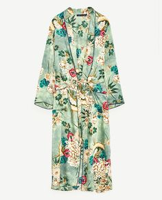 Kimono, CHIMONO STAMPATO di Zara euro 69,95