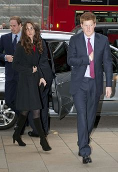 Prince Harry Photos - Prince William, Kate Middleton and Prince Harry at the New Zealand Embassy in London - Zimbio