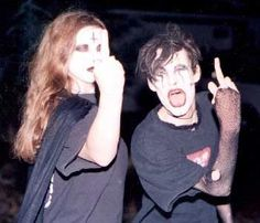 90s Goths Emo Couples, Cute Couples, Goth Aesthetic, Couple Aesthetic, Estilo Punk Rock, Goth Subculture, Me And Bae, Teen Romance, Emo Scene
