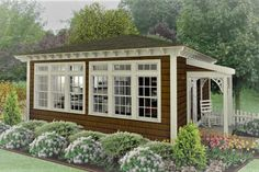 Cottage Plan: 576 Square Feet, 1 Bedroom, 1 Bathroom - 034-01119 Guest House Plans, Pool House Plans, Small House Plans, Guest Cottage Plans, Retirement House Plans, Tiny Cottage Floor Plans, Guest House Cottage, Micro House Plans, Tiny Guest House