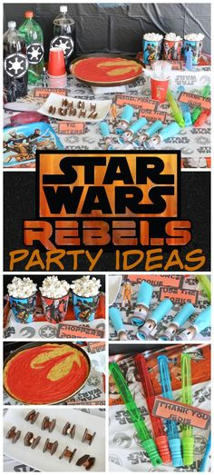 Super Collection Of Star Wars Rebels Birthday Party Ideas
