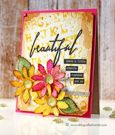 Tim Holtz Distress Ink Color Pop: Fossilized Amber! | Simon Says Stamp Blog