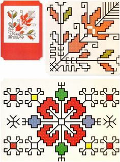 Christmas Embroidery Patterns, Folk Embroidery, Learn Embroidery, Cross Stitch Embroidery, Machine Embroidery, Embroidery Designs, Cross Stitch Borders, Cross Stitch Designs, Cross Stitching