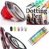 JISTL 5 X 2 Way Marbleizing Dotting Pen Set for Nail Art Manicure Pedicure 10 Color Rolls Nail Art Decoration Striping Tape >>> Check this awesome product by going to the link at the image. (This is an affiliate link) Beauty Products Gifts, Amazon Beauty Products, Nail Art Pen, Nail Art Tools, Ligne Nail Art, Striping Tape Nail Art, Tape Nails, Manicure E Pedicure, Pedicures