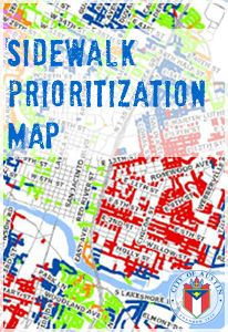 How do decisions get made about which sidewalks to build or repair? Read some fascinating facts and check out Austin's Sidewalk Prioritization Map.