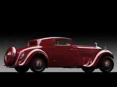 1933 Rolls-Royce Phantom II Continental Sports Coupé by Freestone & Webb2