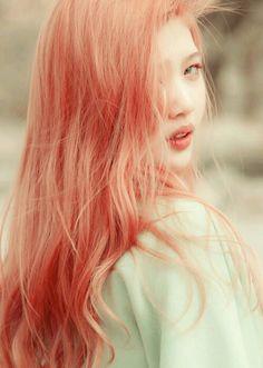 pastel hair - joy - red velvet