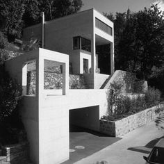 Diener House, Ronco Switzerland   Luigi Snozzi   Photo : Reiner Blunck