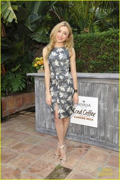Peyton List Hosts Private Party at the Malibu Beach House on Wednesday night (July 29 2015)