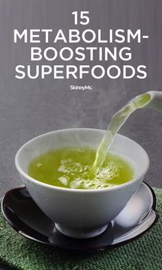 15 Metabolism-Boosting Superfoods