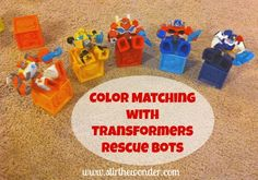 Color Matching with Transformers Rescue Bots - Stir The Wonder